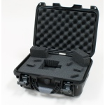 Plasticase Nanuk 915 Case with Cubed Foam: Black