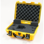 Plasticase Nanuk 915 Case with Cubed Foam: Yellow