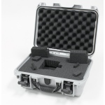 Plasticase Nanuk 915 Case with Cubed Foam: Silver