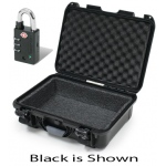 Plasticase Nanuk 905 Case with Foam Liner and Padlock: Silver