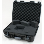 Plasticase Nanuk 925 Case with Cubed Foam: Black