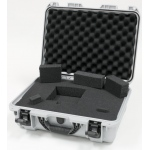 Plasticase Nanuk 925 Case with Cubed Foam: Silver