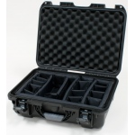 Plasticase Nanuk 925 Case with Padded Divider: Black