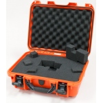 Plasticase Nanuk 920 Case with Cubed Foam: Orange