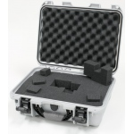 Plasticase Nanuk 920 Case with Cubed Foam: Silver