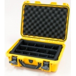 Plasticase Nanuk 920 Case with Padded Divider: Yellow
