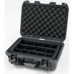 Plasticase Nanuk 920 Case with Padded Divider: Graphite