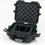 Plasticase Nanuk 905 Case with Padded Divider: Black
