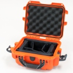 Plasticase Nanuk 905 Case with Padded Divider: Orange