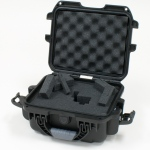 Plasticase Nanuk 905 Case with Cubed Foam: Black
