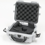 Plasticase Nanuk 905 Case with Cubed Foam: Silver