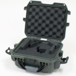 Plasticase Nanuk 905 Case with Cubed Foam: Olive