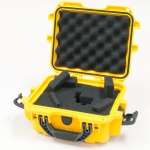 Plasticase Nanuk 905 Case with Cubed Foam: Yellow