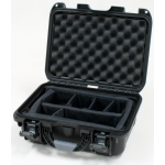 Plasticase Nanuk 915 Case with Padded Divider: Black