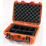 Plasticase Nanuk 915 Case with Padded Divider: Orange