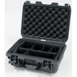 Plasticase Nanuk 915 Case with Padded Divider: Graphite
