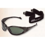 BSG BS-Cups-2 Metallic Black Frame: Smoke-Green Lens