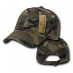 Rapid Dominance R830 ACU/Camo Vintage Cotton Polo Caps: Woodland