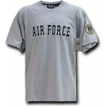 Rapid Dominance R17 Applique Text Military T-Shirts: Air Force