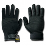 Rapid Dominance T04 Digital Leather Gloves: Black