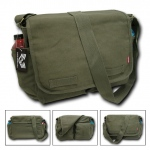 Rapid Dominance R31 Classic Military Messenger Bags: Olive