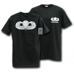 Rapid Dominance S25 Classic Military T-Shirts: Black, Airborne