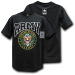 Rapid Dominance S25 Classic Military T-Shirts: Black, Army