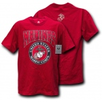 Rapid Dominance S25 Classic Military T-Shirts: Cardinal, Marines