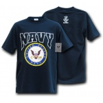 Rapid Dominance S25 Classic Military T-Shirts: Navy, Navy
