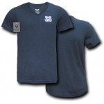 Rapid Dominance S21 Choice V-Neck Tee: Navy, U.S Coast Guard