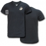 Rapid Dominance S21 Choice V-Neck Tee: Black, U.S Marines