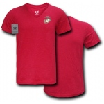 Rapid Dominance S21 Choice V-Neck Tee: Cardinal, U.S Marines