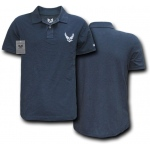 Rapid Dominance S20 Military Polo Shirt: Navy, Air Force