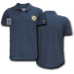 Rapid Dominance S20 Military Polo Shirt: Navy, Navy