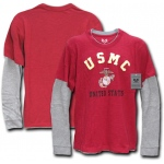 Rapid Dominance S17 Highlight Tee: Cardinal, Marines