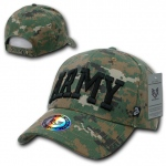 Rapid Dominance 943 Marine Digital Military/Law Caps: Woodland, Army