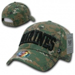 Rapid Dominance 943 Marine Digital Military/Law Caps: Woodland, Marines