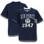 Rapid Dominance S16 Pitch Double Layer Tee: Air Force, Navy