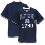 Rapid Dominance S16 Pitch Double Layer Tee: Navy, Coast Guard