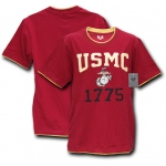 Rapid Dominance S16 Pitch Double Layer Tee: Cardinal, Marines