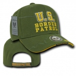 Rapid Dominance JW7 Shadow Law Enforcement Caps: Olive, Border Patrol