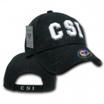 Rapid Dominance JW7 Shadow Law Enforcement Caps: Black, CSI