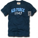 Rapid Dominance R51 Applique Military T-Shirts Tees: Navy, Air Force