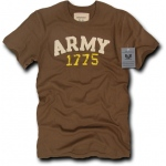 Rapid Dominance R51 Applique Military T-Shirts Tees : Brown, Army