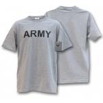 Rapid Dominance R26 Military Training T-Shirts Tees: Heather Grey, Army, XL