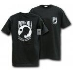 Rapid Dominance R25 Military T-Shirts Tees: Black, POW*MIA