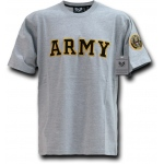 Rapid Dominance R17 Applique Text Military T-Shirts: Army