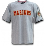 Rapid Dominance R17 Applique Text Military T-Shirts: Marines