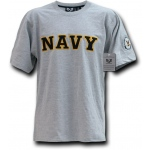 Rapid Dominance R17 Applique Text Military T-Shirts: Navy, XL