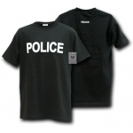 Rapid Dominance J25 Law Enforcement T-Shirts Tees: Black, Police
